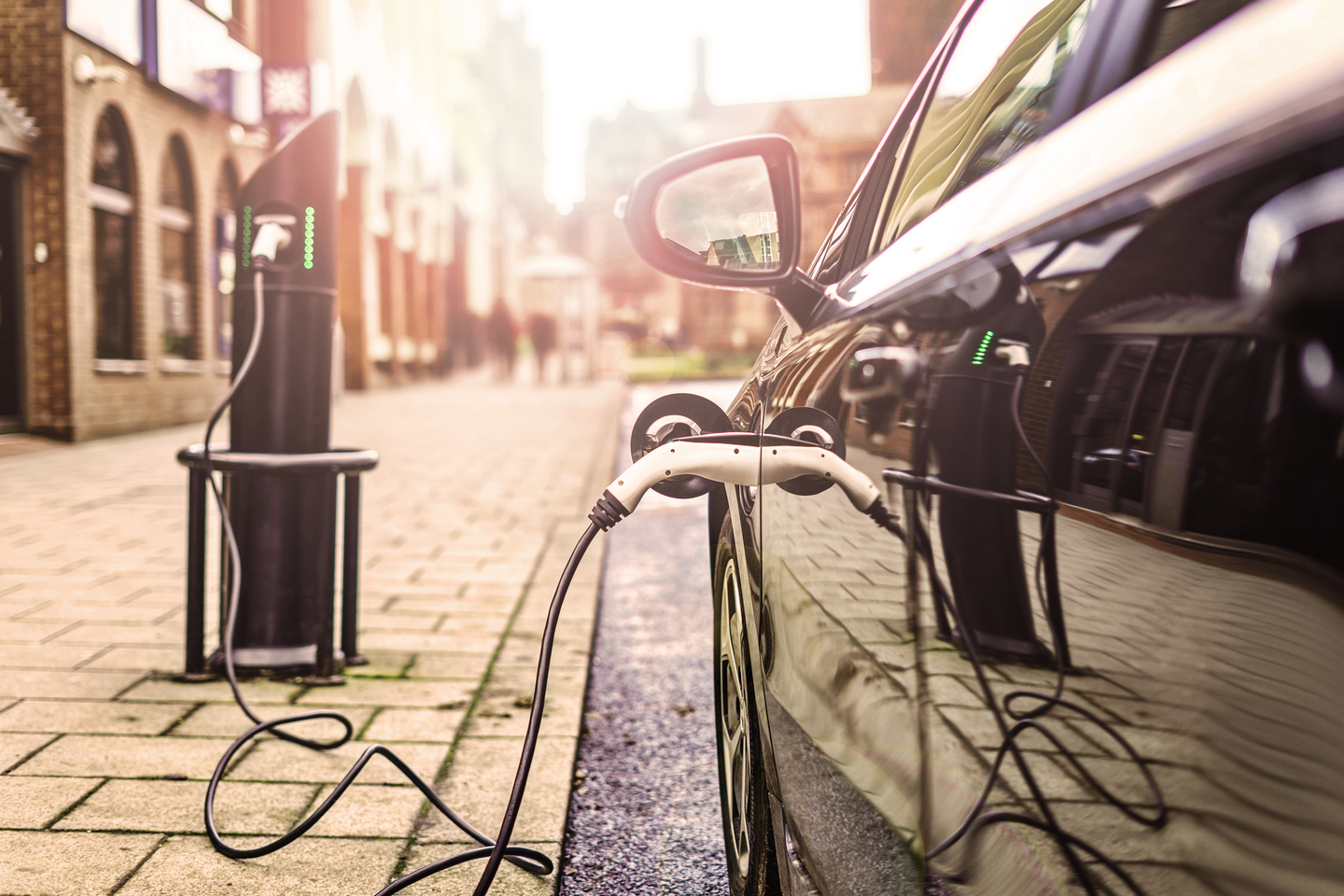 Electric Cars In France Shutterstock 766206931